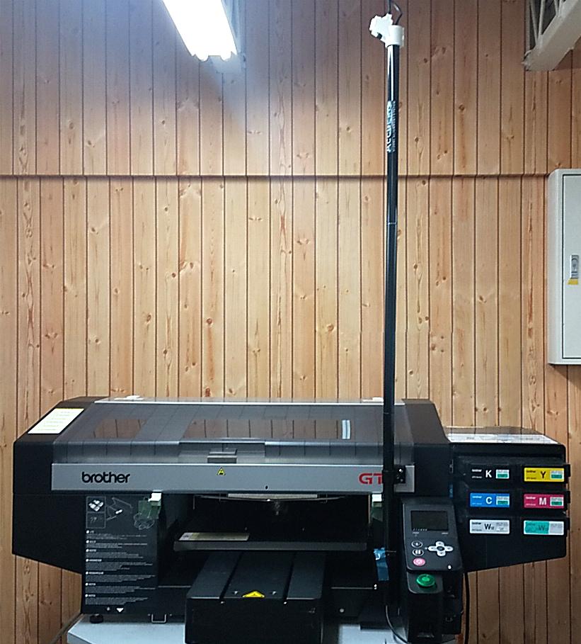京都ショールームのBrother GTXにカメラシステムを搭載